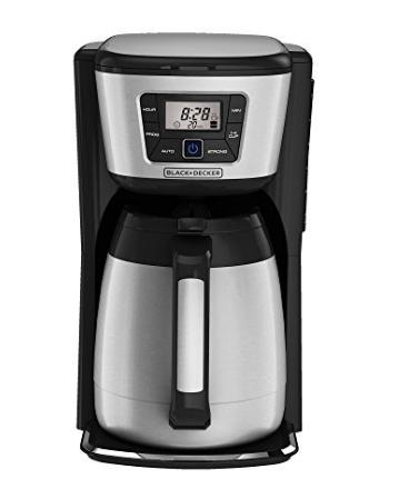 BLACK+DECKER 12-Cup Thermal Coffeemaker