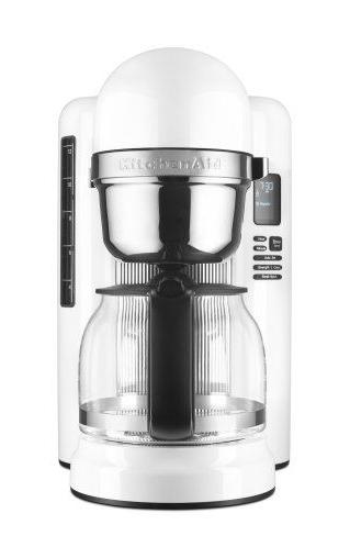 KitchenAid KCM1204WH 12-Cup Coffee Maker