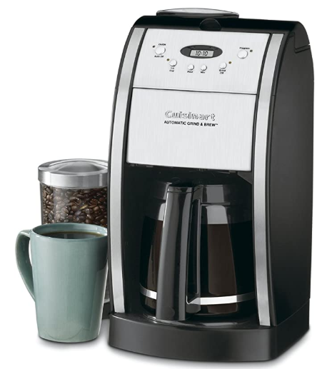 Cuisinart DGB-550BKP1 Grind & Brew Automatic Coffeemaker 12 Cup