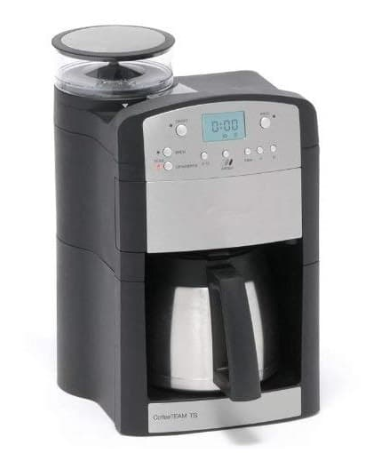 Capresso 465 CoffeeTeam TS 10-Cup Digital Coffeemaker with Conical Burr Grinder