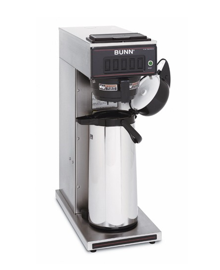 How to use a bunn commercial coffee maker?