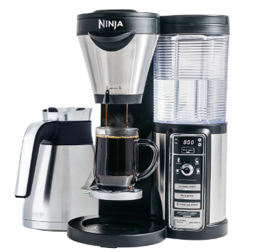 Ninja Coffee Maker for Hot/Iced/Frozen Coffee with 4 Brew Sizes