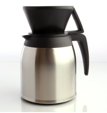 Melitta Pour over Coffee Brewer with Stainless Steel Thermal Carafe