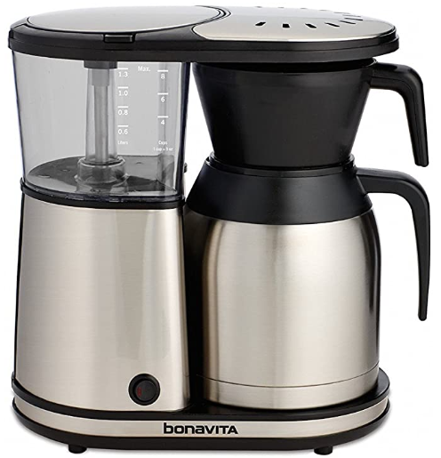 Bonavita BV1900TS 8-Cup One-Touch Coffee Maker Featuring Thermal Carafe