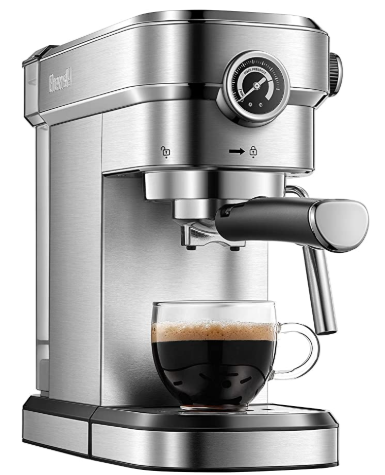 Brewsly 15 Bar Professional Pressure Espresso Machine