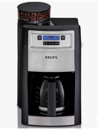 KRUPS Grind and Brew Coffee maker KM785D50