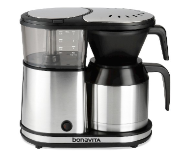 Bonavita Connoisseur 8-Cup One-Touch Coffee Maker BV1901TS