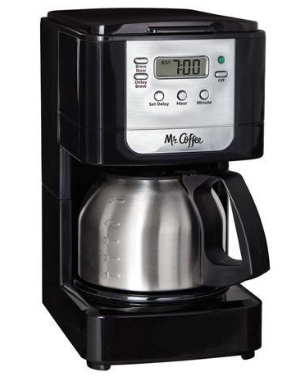 Mr. Coffee JWX9-RB 5-Cup Programmable Coffeemaker