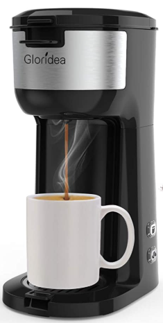 Single Serve K Cup Coffee Maker for K-Cup Pods by Gloridea