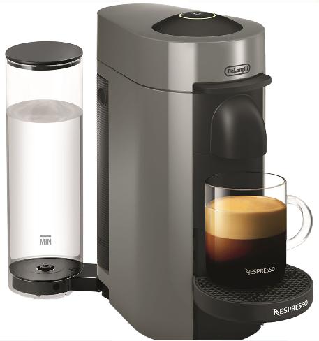 Nespresso VertuoPlus Coffee and Espresso Machine by Delonghi