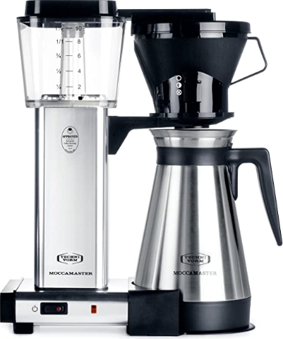 Technivorm Silver brushed 40 oz Coffee Brewer
