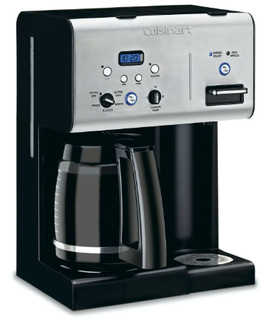 Cuisinart Programmable Coffeemaker Plus Hot Water System