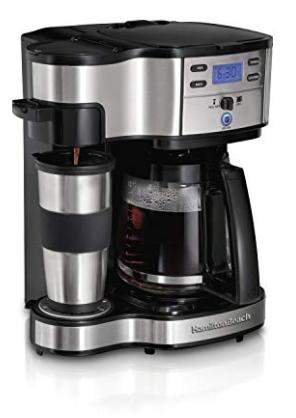 Hamilton Beach 2-way single-serve coffee Maker