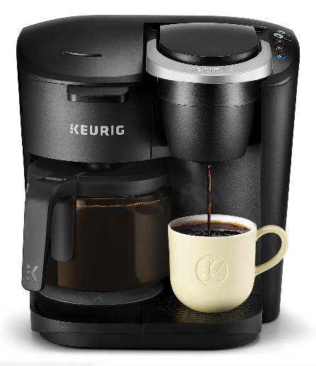 Keurig K-Duo 12-Cup Carafe Drip Coffee Brewer