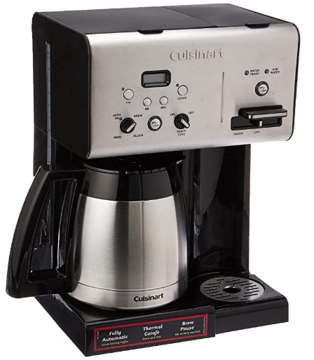 Cuisinart CHW-14 Coffee Plus 10-Cup Coffeemaker
