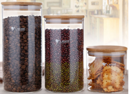 Storage of coffee beans