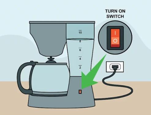 Step 6 - Brew Coffee